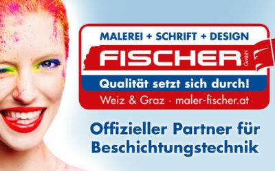 Malerei + Schrift + Design Fischer
